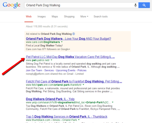 Pet Patrol Search Engine Optimization